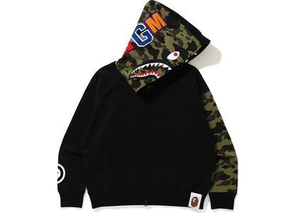 Bape Giant Shark Full Zip Hoodie Black (FW20)の写真
