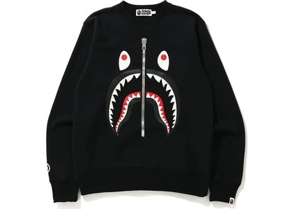 Bape Shark Crewneck (FW20) Black (FW20)の写真