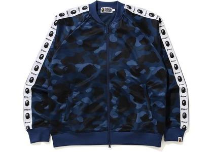 Bape Color Camo Tape Jersey Top Blue (FW20)の写真