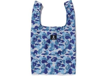 BAPE ABC Camo Shopping Bag L Blue (FW20)の写真