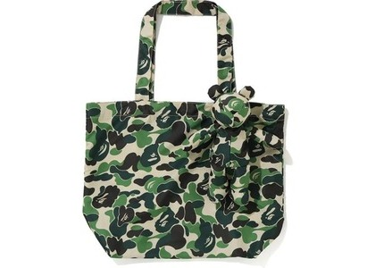 BAPE ABC Bear Eco Bag Green (FW20)の写真