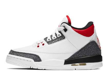 Nike Air Jordan 3 Retro SE-T Fire Red CO.JP (GS)の写真