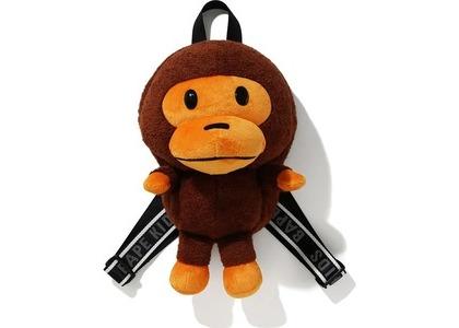 BAPE BOA Baby Milo Plush Doll Pack Brown (FW20)の写真