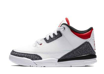 Nike Air Jordan 3 Retro SE-T Fire Red CO.JP Little Kidsの写真