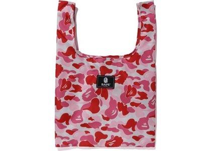 BAPE ABC Camo Shopping Bag M Pink (FW20)の写真