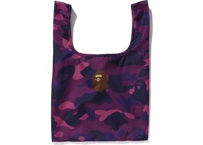 BAPE Color Camo Shopping Bag M Purple (FW20)の写真