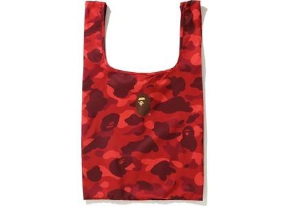 BAPE Color Camo Shopping Bag L Red (FW20)の写真