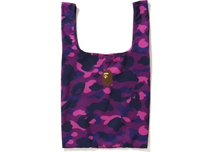 BAPE Color Camo Shopping Bag L Purple (FW20)の写真
