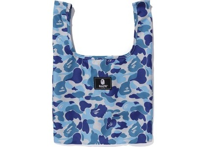 BAPE ABC Camo Shopping Bag M Blue (FW20)の写真