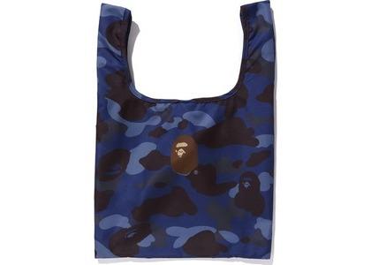 BAPE Color Camo Shopping Bag M Blue (FW20)の写真