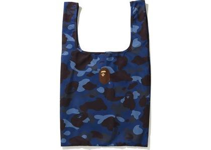 BAPE Color Camo Shopping Bag L Blue (FW20)の写真
