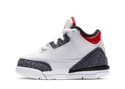 Nike Air Jordan 3 Retro SE-T Fire Red CO.JP Infantsの写真