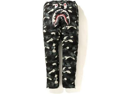 Bape City Camo Shark Track Pants Black (FW20)の写真