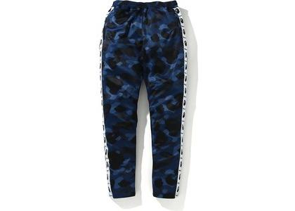Bape Color Camo Tape Jersey Pants Blue (FW20)の写真