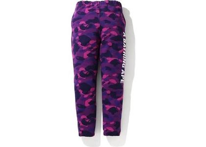 Bape Color Camo Sweat Pants Purple (FW20)の写真