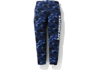 Bape Color Camo Sweat Pants Navy (FW20)の写真