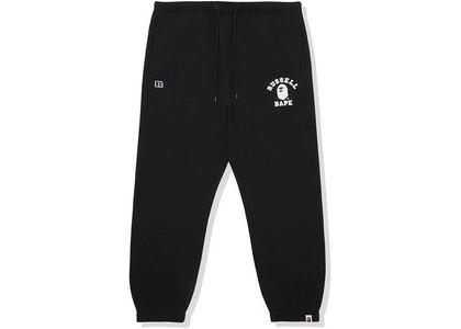 Bape x Russell College Sweatpants Black (FW20)の写真