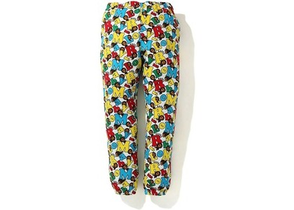Bape Baby Milo Alphabet Slim Sweatpants Multi (FW20)の写真