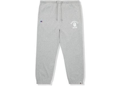 Bape x Russell College Sweatpants Gray (FW20)の写真