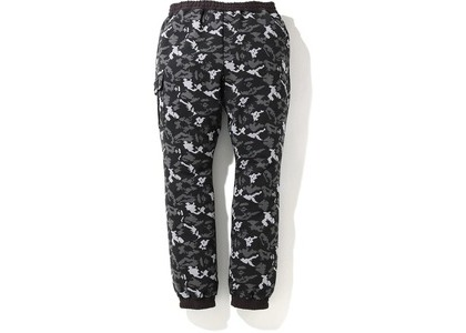 Bape Digital Camo Side Pocket Sweatpants Black (FW20)の写真
