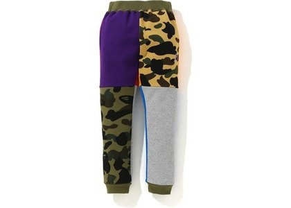 Bape 1st Camo Crazy Sweatpants Multi (FW20)の写真