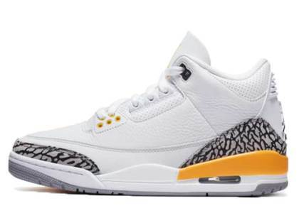 Nike Air Jordan 3 Laser Orange Womensの写真