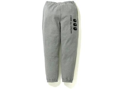 Bape X CDG Osaka Sweatpants Grey (FW20)の写真