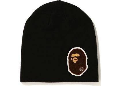 Bape Big Ape Head Knit Cap (FW20) Black (FW20)の写真