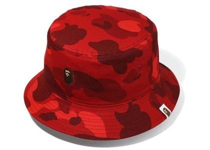 Bape Color Camo Bucket Hat Red (FW20)の写真