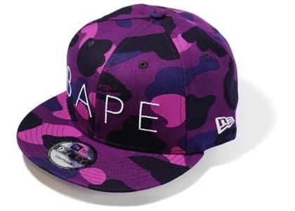 Bape Color Camo New Era Snap Back Cap Purple (FW20)の写真