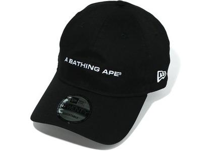 Bape A Bathing Ape New Era 9Twenty Cap Black (FW20)の写真
