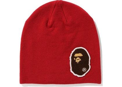 Bape Big Ape Head Knit Cap Red (FW20)の写真