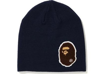 Bape Big Ape Head Knit Cap (FW20) Navy (FW20)の写真