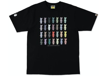 Be@rbrick x Bape 28th Anniversary Tee Black (SS21)の写真