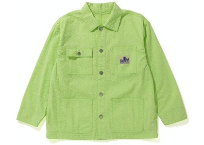 Bape Coverall Womens Jacket Yellow (SS21)の写真