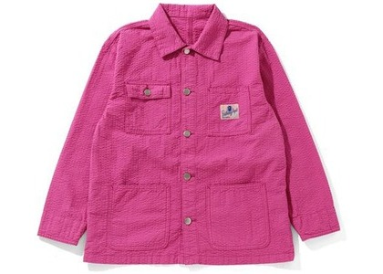 Bape Coverall Womens Jacket Pink (SS21)の写真