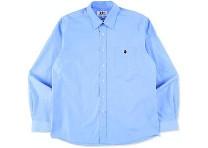 CDG Osaka x Bape Poplin Shirt Blue (SS21)の写真