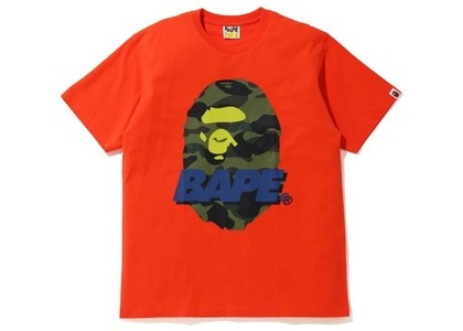 Bape #2 Tee (FW20) Orange (FW20)の写真