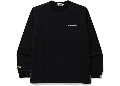 Bape A Bathing Ape Cordura Wide L/S Tee Black (FW20)の写真