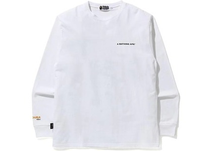 Bape A Bathing Ape Cordura Wide L/S Tee White (FW20)の写真
