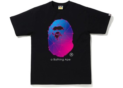 Bape A Bathing Ape Spider Web Tee Black (FW20)の写真