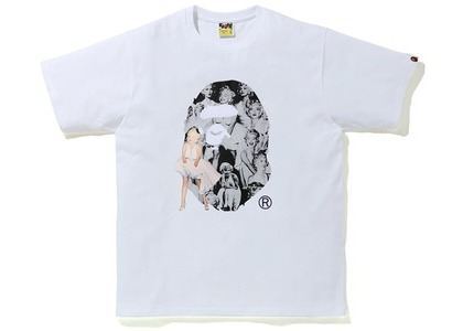 Bape A BATHING APE x Marilyn Monroe Big Ape Head Tee White (FW20)の写真
