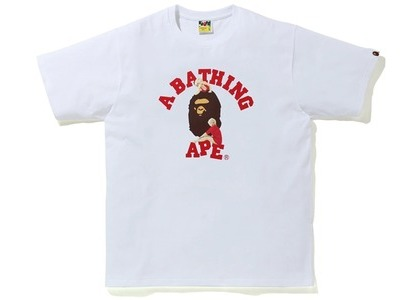 Bape A BATHING APE x Marilyn Monroe College Tee White (FW20)の写真
