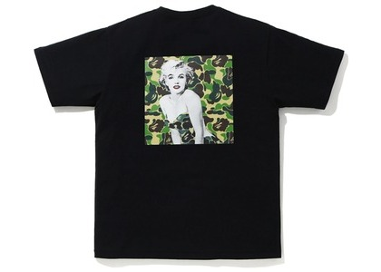 Bape A BATHING APE x Marilyn Monroe Iconic Tee Black (FW20)の写真