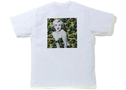 Bape A BATHING APE x Marilyn Monroe Iconic Tee White (FW20)の写真