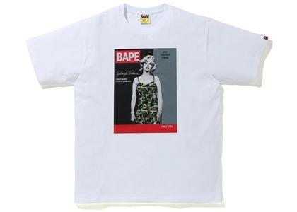 Bape A BATHING APE x Marilyn Monroe Magazine Tee White (FW20)の写真