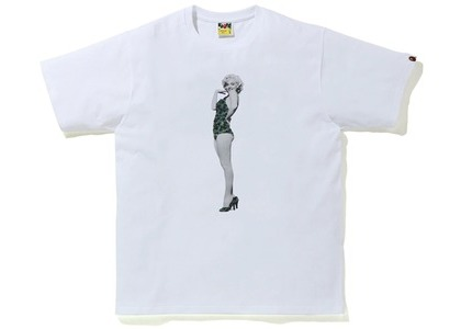 Bape A BATHING APE x Marilyn Monroe Tee White (FW20)の写真