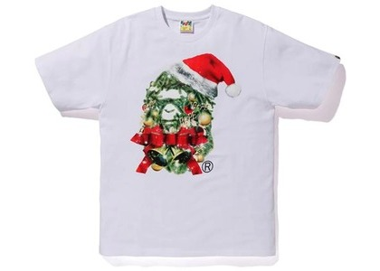Bape Christmas Ape Head Tee White (FW20)の写真