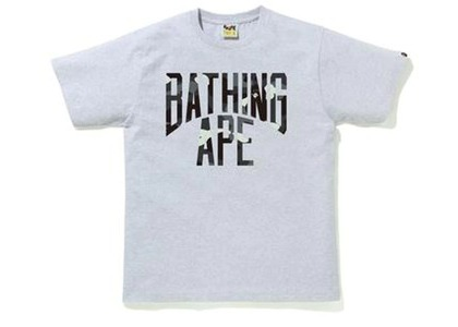 Bape City Camo NYC Logo Tee Gray (FW20)の写真