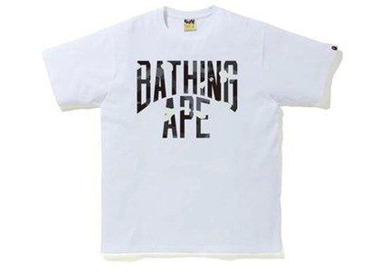 Bape City Camo NYC Logo Tee White (FW20)の写真